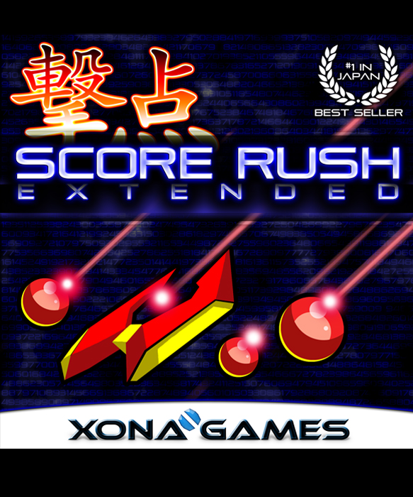 SCORE RUSH EXTENDED 撃点 is a 4 player overhead scrolling 2D shmup on PS4. It is the world's first widescreen bullet-hell shmup, with multidirectional dual-stick controls.
